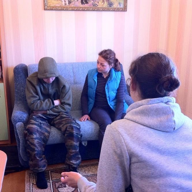 Жесткая любовь - лекция реабилитационного центра
