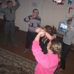 Танцы в новогоднюю ночь