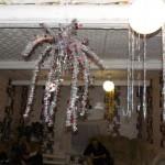 Центр украсили к Новогоднему празднику
